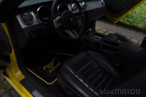 Ford Mustang interior2 by blueMALOU