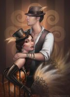 Bohemme couple by Medusa-Dollmaker