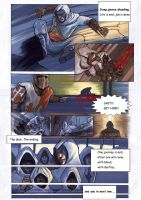 Assassins Creed comic 2nd page by carlosCL