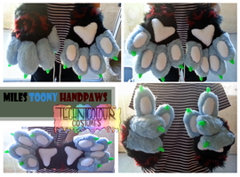Miles Toony Handpaws by TECHNlCOLOUR