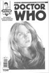 Doctor Who blank sketch cover graphite drawing by smoothdaddyride