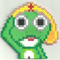 Sargent Frog by Ravenfox-Beadsprites