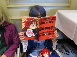 Ciel is a Sebby x Grell fan by hevana