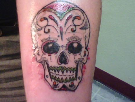 Day of the Dead by PurpleFrogTattoo
