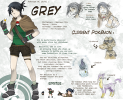 PokeSpe OC : Grey by Livious