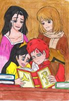 ma mores  gaara and balla mother by fairyloves