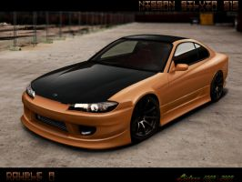 nissan silvia s15 by doubleart
