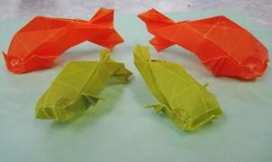 Origami Fish by GaBrIeLlA123