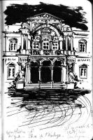 Avignon's theater by JulienHB