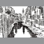 VENICE in Doodle art (2) by kevinandy
