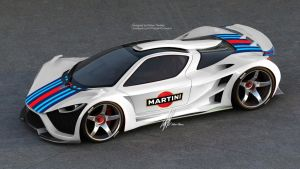 MARTINI Scorpion supercar by Thebian Concepts by mcmercslr