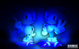 Sonic the Hedgehog Wallpaper by iamthemanwithglasses