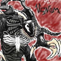 Venom - the symbiote by hollowzero
