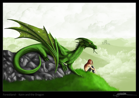 1. Kaim and the dragon by Kraaku