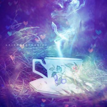 Tea with the White Rabbit by UntamedUnwanted