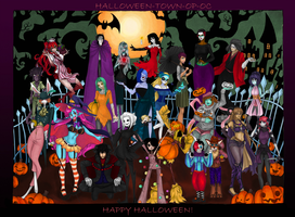 Big Halloween Party Collab by xKAURAx
