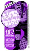 A-Town Roller Girlz vs. The Forx Sugar Beaters by EricLeeJohnson