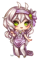 Elumina - Chubby chibi commission by clover-teapot