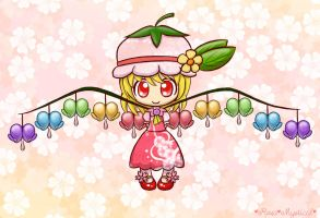 Flowering Flandre by Rosa-Mystical