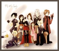 FF7-RP's Family by Yumeih
