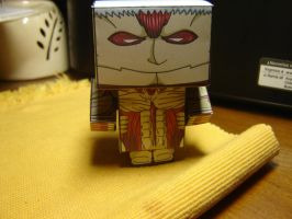 Armoured Titan Cubeecraft by Guradani