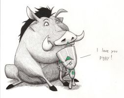 GIR and Pumbaa by Maran-Zelde