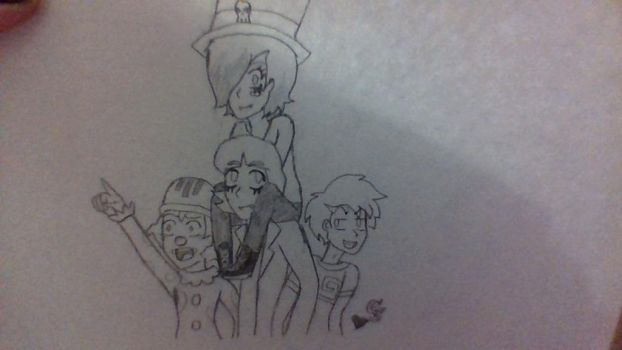 Draw the Squad (RC9GN) by ComicalShadow
