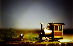 Narrow gauge loco by otherunicorn