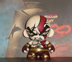 Munny - God of war by DarkDorArt