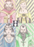 The Four Founders by Marissa-Emily