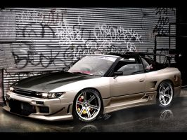 Nissan Silvia 'Front' by Rugy2000