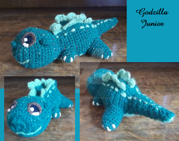 Godzilla Junior by AriaThordia