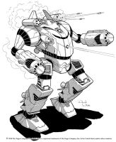 Battletech: Shogun by Mecha-Zone