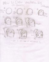 How to draw Vanellope! by ParamoreLoverXx