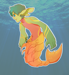 Mermay Day 1 [Adopt-Pending] by Sunfaun