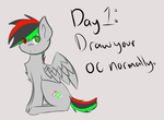 Mintisity (Day 1) [7 Day OC Challenge] by KittenBurger3