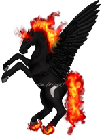 Mr. Flame Head by hbrqueen