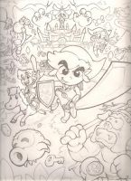 the Legend of Zelda sketch by mattdog1000000