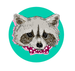 Raccoon by celinagr