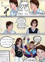 The Beatles Meet Doctor Who 2 by littledinosaurarms