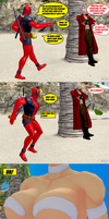 Ultimate Marvel vs. Capcom 3: Team Members Meet... by NekoHybrid