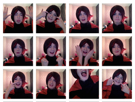Ruby Rose Expressions~ Cosplay by CrystaltheEchidna01