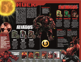 Red Hulk Enciclopedia Pages by kiraDaidohji