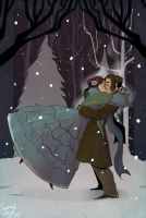 Winter Kiss by savivi