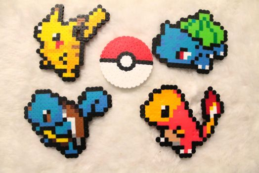 Perler Bead Pokemon by Mist-Fang