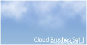 Cloud Brush Set 1 SAMPLER by ardcor