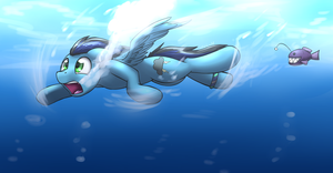 under the sea by otakuap