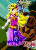Princess Zelda ST by Seyereb