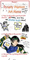 Dynasty Warriors Meme by Shihochan