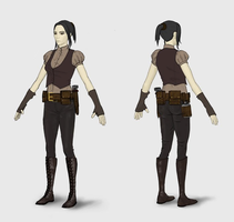 Costume Concept - Beginner Female by musegames